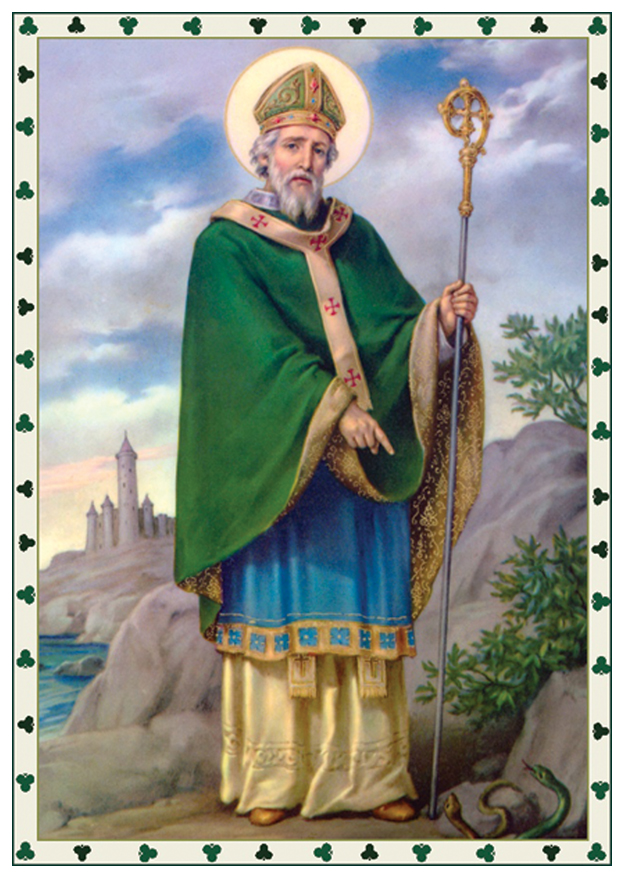 Image result for st. patrick the patron saint of ireland dies