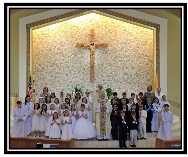 Congratulations to the 2016 First Communion Class - Saint